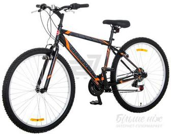 "Велосипед Discovery 17"" Amulet чорно-червоний RET-DIS-27.5-001"