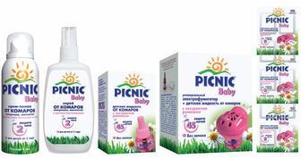 Засоби захисту від комарів Picnic