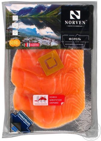 Форель Norven нарізна 230г