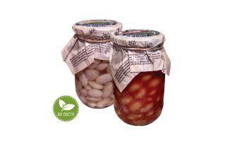 Квасоля натуральна, у томатному соусі Домашній кошик 460 г