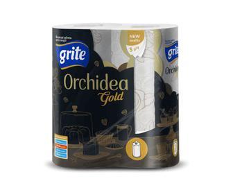 Рушники паперові Grite Orchidea Gold, 2шт./уп