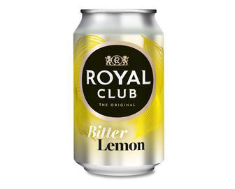Напій гіркий «Лимон» безалкогольний газований, Royal Club, 0,33 л