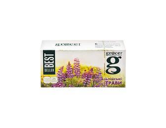 Чай Альпійські трави з зеленим чаєм (25 ф/п х 1,5 г) Grace