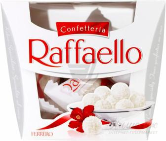 Цукерки Raffaello Т15х6х1 150 г (8000500023976)