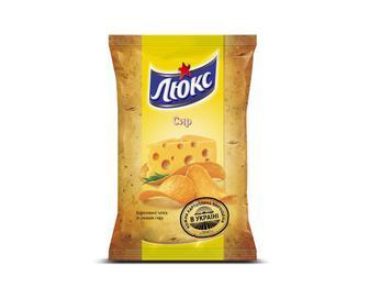 Чіпси «Люкс» сир, 133 г