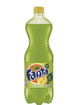 Напій сильногазований Fanta, лимон, 1.5л