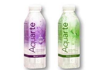 Вода Focus Женьшень-яблуко/ Ромашка-маракуя, негазована Aquarte 0,5 л