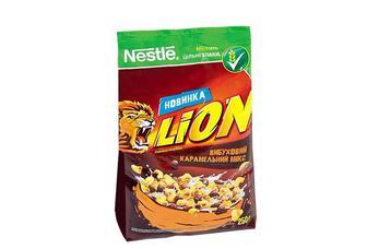 Готовий сніданок «LION» з карамеллю та шоколадом Nestle  250 г