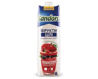 Нектар Sandora Whole Fruit яблучно-ягідний, 0,95л
