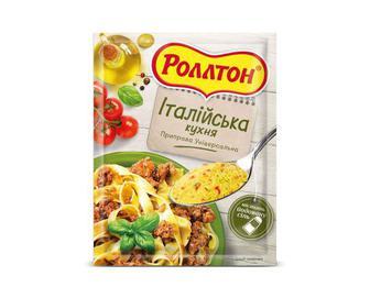 Приправа «Роллтон» універсальна «Італійська кухня» 80 г