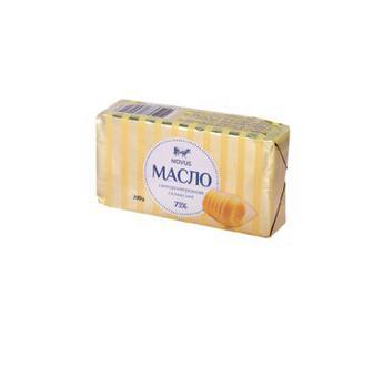 Масло 73% вершкове Селянське Novus, 200 г