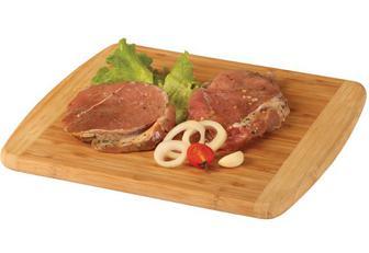 Стейк зі свинини в маринаді