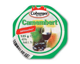 Сир Coburger «Камамбер» безлактозний 45% жиру, 125г