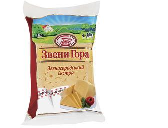 Сир твердий 50% фасований, Звени Гора, 230г
