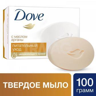 Крем-мыло твердое Dove с Драгоценными маслами, 100г