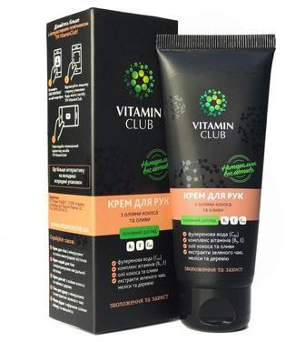 VitaminClub Крем для рук з оліями кокоса та оливи 75мл