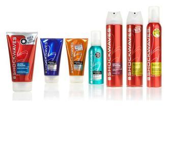 Средства для укладки волос Wella Shockwaves