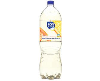 Вода мінеральна BonBoisson Ваlance апельсин-грейпфрут з соком, 2л