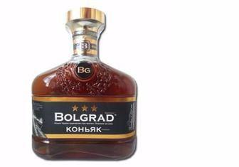 Коньяк Bolgrad 3* 40%, 0,5л