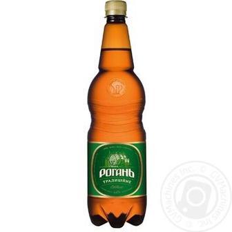 Пиво Рогань Традиционное светлое 1,2л