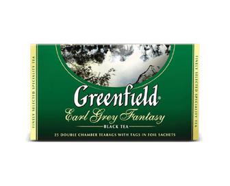 Чай чорний Greenfield Earl Grey Fantasy, 25×2 г/уп