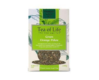 Чай байховий зелений Tea of Life Green OP, 100 г