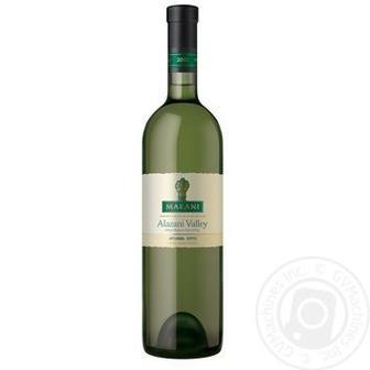 Вино Алазанська долина Біле напівсолодке Марані 0,75 л