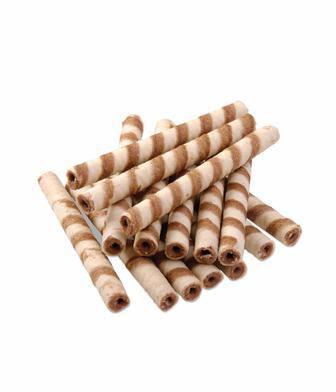 Трубочки вафельні з какао або з молоком ХБФ 1 кг