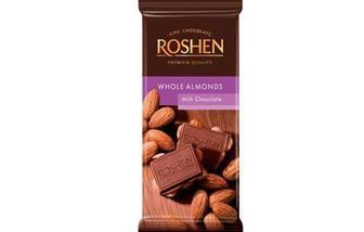 Шоколад молочний з цілим мигдалем 90г