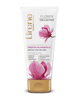 Lirene Flower Перлинний мус для тіла Орієнтальна магнолія 200мл