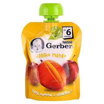 Пюре Gerber Яблуко Манго пауч 90г
