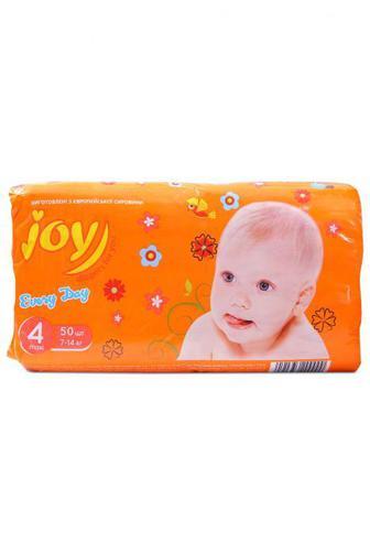 Подгузники Joy Every Day р4 7-14 кг 50 шт