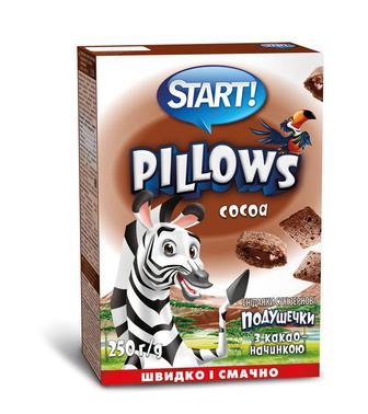 Подушечки з какао, Start, 250 г