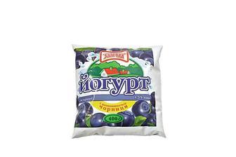 Йогурт Чорниця, 1,5% Злагода 400 г