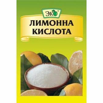 Скидка 23% ▷ Приправа кислота лимонная Эко, 25г