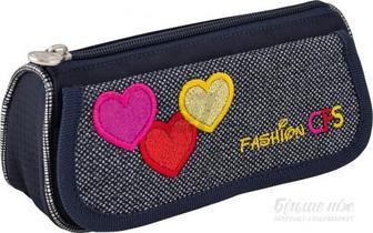 Пенал шкільний Hearts CF85587 Cool For School джинс