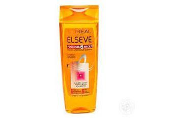 Шампунь Elseve для волосся Розкіш 6 масел 400мл