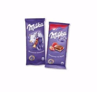 Скидка 28% ▷ Шоколад Мілка 80/90г
