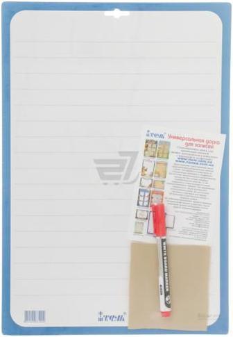 Дошка для написів А3 картонна з маркером та серветкою 070203M iTEM