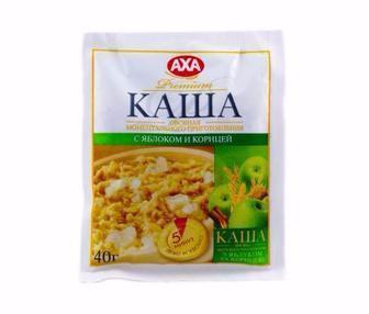 Каша Вівсяна, миттєвого приготування з чорницею/журавлиною Аха 40 г