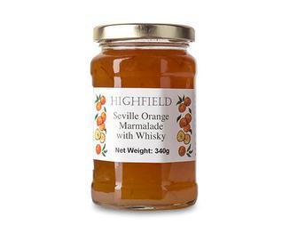 Мармелад з апельсинів Севіль, з додаванням віскі, Highfield Preserves, 340 г