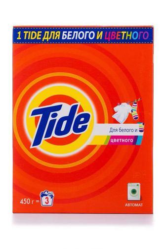 Стиральный порошок TIDE автомат для белых и цветных вещей, 450г