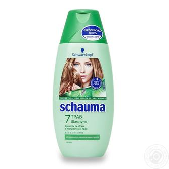 Шампунь Schauma, 250/400 мл