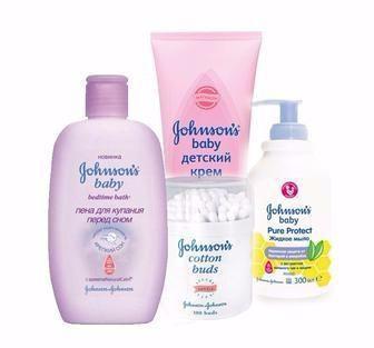 Засоби догляду за обличчям, тілом Johnsons