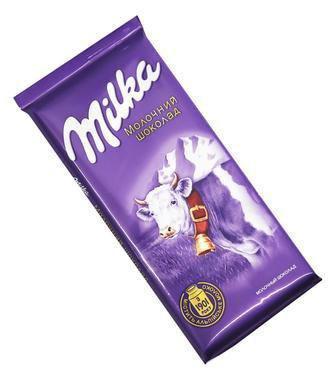 Шоколад молочний  Milka 90 г
