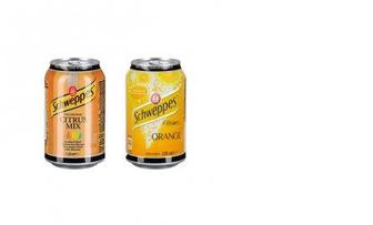 Напиток Schweppes Citrus Mix / Orange ж/б 0,33 л