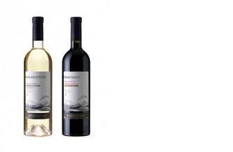 Вино белое/красное п/с Шардоне/Бастардо, Bostavan, 0,75л