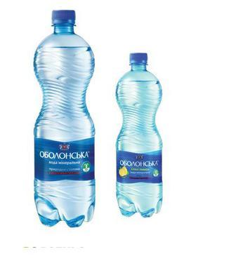 Вода мінеральна або мінеральна Лимон 2 л