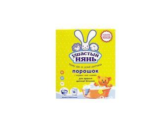 Засіб миючий синтетичний порошковий для прання дитячої білизни Ушастый Нянь 400 г