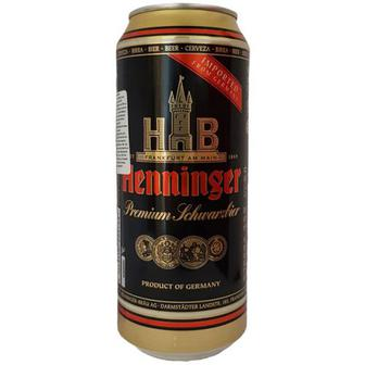 Пиво Henninger Premium темне 0,5л